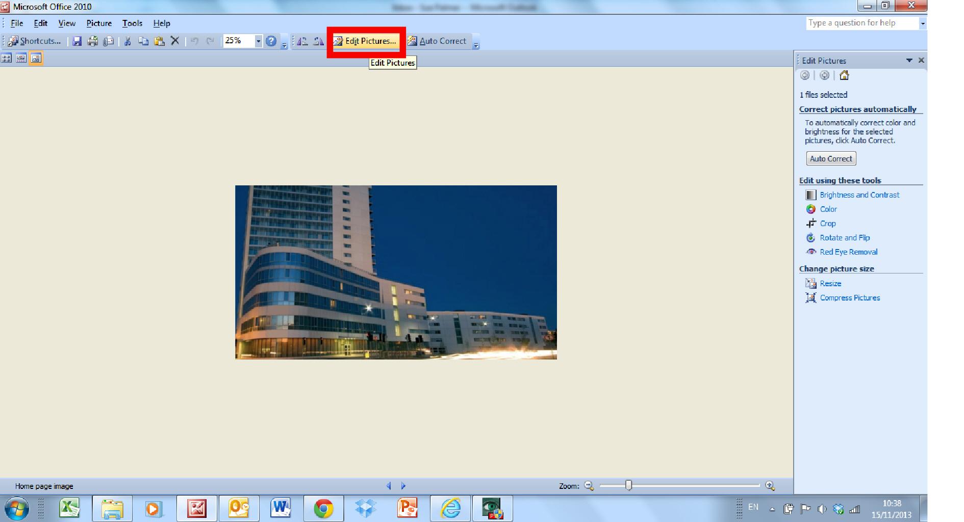 edit pictures screen shot